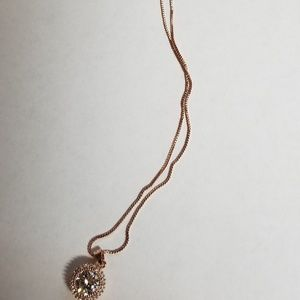 Delicate Ladies  Rose gold Plated necklace